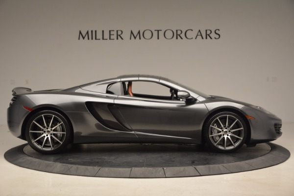 Used 2014 McLaren MP4-12C SPIDER Convertible for sale Sold at Bugatti of Greenwich in Greenwich CT 06830 22
