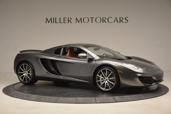 Used 2014 McLaren MP4-12C SPIDER Convertible for sale Sold at Bugatti of Greenwich in Greenwich CT 06830 23