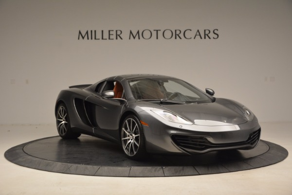 Used 2014 McLaren MP4-12C SPIDER Convertible for sale Sold at Bugatti of Greenwich in Greenwich CT 06830 24