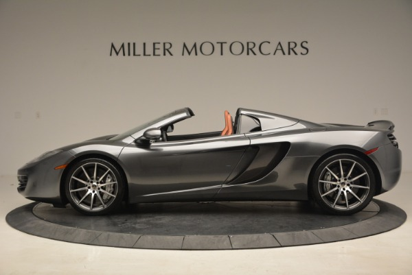 Used 2014 McLaren MP4-12C SPIDER Convertible for sale Sold at Bugatti of Greenwich in Greenwich CT 06830 3