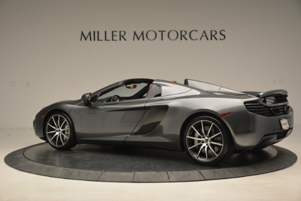 Used 2014 McLaren MP4-12C SPIDER Convertible for sale Sold at Bugatti of Greenwich in Greenwich CT 06830 4