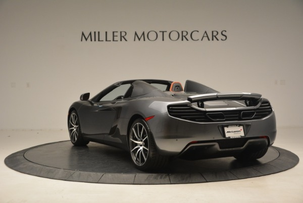 Used 2014 McLaren MP4-12C SPIDER Convertible for sale Sold at Bugatti of Greenwich in Greenwich CT 06830 5