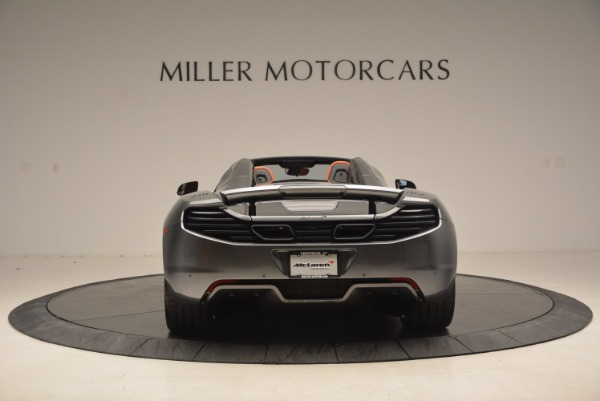 Used 2014 McLaren MP4-12C SPIDER Convertible for sale Sold at Bugatti of Greenwich in Greenwich CT 06830 6