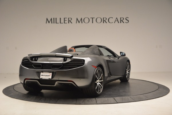 Used 2014 McLaren MP4-12C SPIDER Convertible for sale Sold at Bugatti of Greenwich in Greenwich CT 06830 7