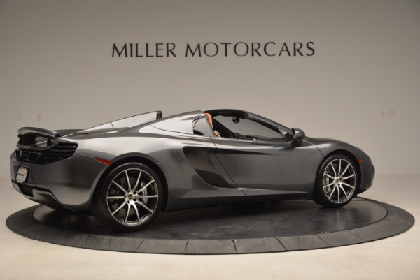 Used 2014 McLaren MP4-12C SPIDER Convertible for sale Sold at Bugatti of Greenwich in Greenwich CT 06830 8