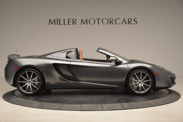 Used 2014 McLaren MP4-12C SPIDER Convertible for sale Sold at Bugatti of Greenwich in Greenwich CT 06830 9