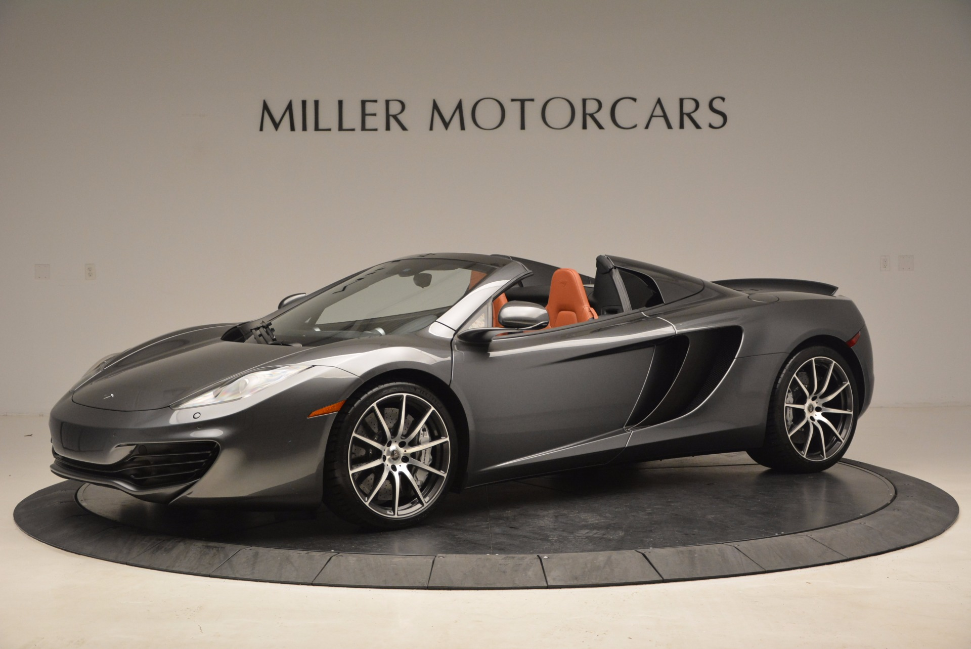 Used 2014 McLaren MP4-12C SPIDER Convertible for sale Sold at Bugatti of Greenwich in Greenwich CT 06830 1