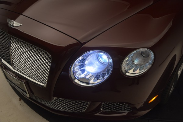Used 2014 Bentley Continental GT W12 for sale Sold at Bugatti of Greenwich in Greenwich CT 06830 27