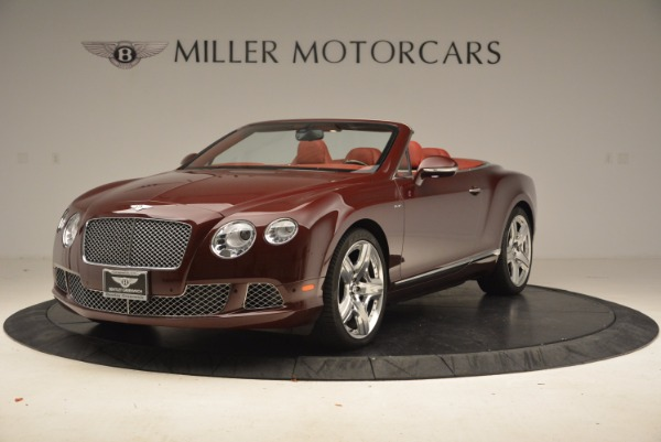 Used 2014 Bentley Continental GT W12 for sale Sold at Bugatti of Greenwich in Greenwich CT 06830 1