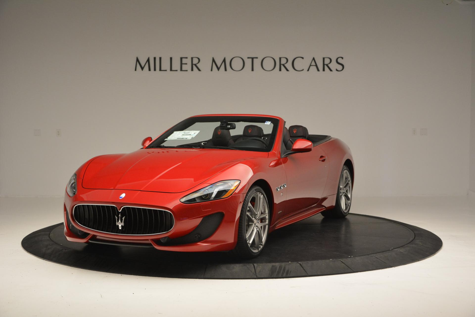 New 2017 Maserati GranTurismo Cab Sport for sale Sold at Bugatti of Greenwich in Greenwich CT 06830 1