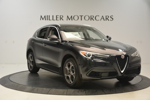 New 2018 Alfa Romeo Stelvio Q4 for sale Sold at Bugatti of Greenwich in Greenwich CT 06830 11