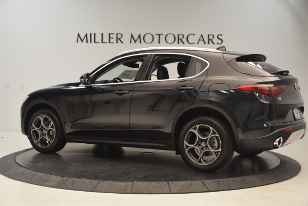 New 2018 Alfa Romeo Stelvio Q4 for sale Sold at Bugatti of Greenwich in Greenwich CT 06830 4