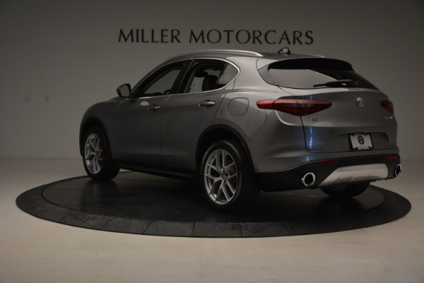 New 2018 Alfa Romeo Stelvio Q4 for sale Sold at Bugatti of Greenwich in Greenwich CT 06830 5