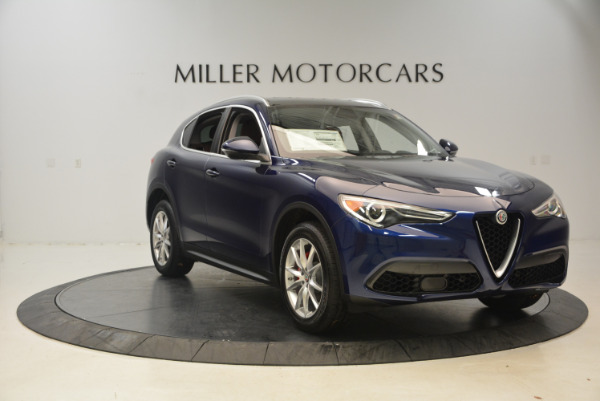 New 2018 Alfa Romeo Stelvio Ti Q4 for sale Sold at Bugatti of Greenwich in Greenwich CT 06830 11
