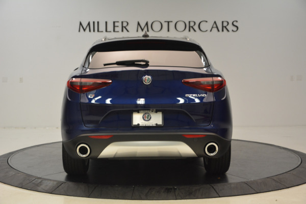 New 2018 Alfa Romeo Stelvio Ti Q4 for sale Sold at Bugatti of Greenwich in Greenwich CT 06830 6