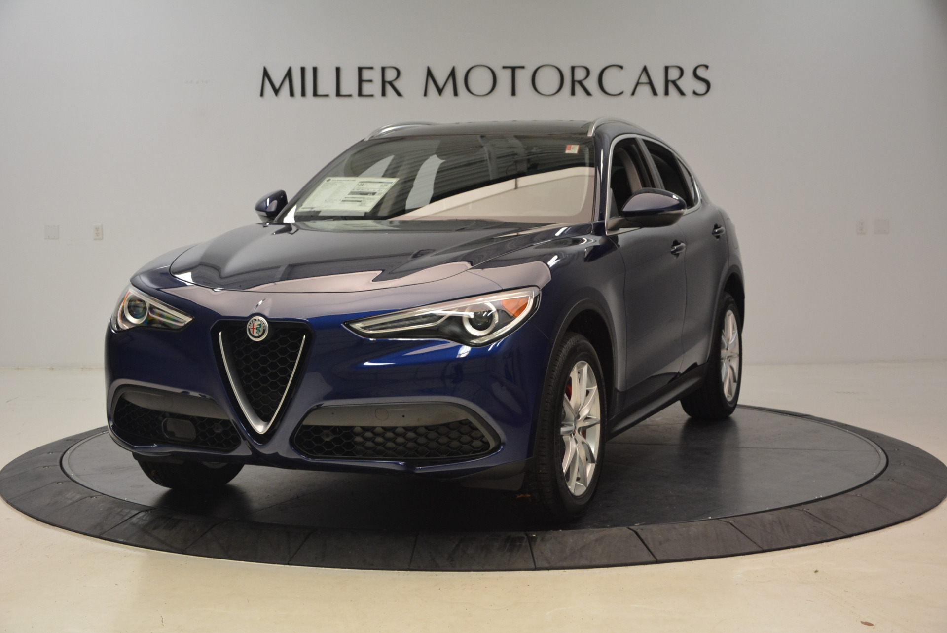 New 2018 Alfa Romeo Stelvio Ti Q4 for sale Sold at Bugatti of Greenwich in Greenwich CT 06830 1