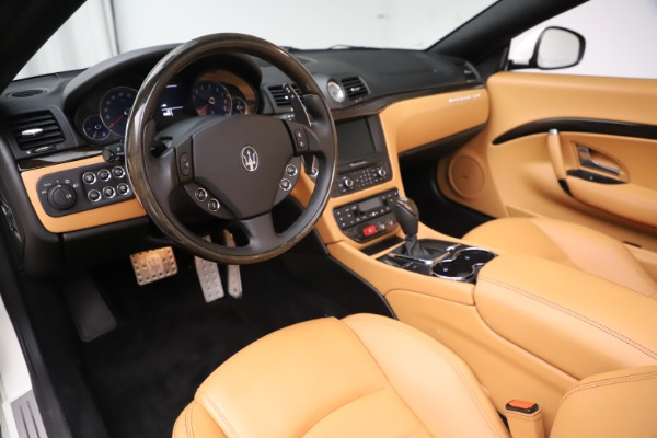 Used 2017 Maserati GranTurismo Convertible Sport for sale $84,900 at Bugatti of Greenwich in Greenwich CT 06830 23