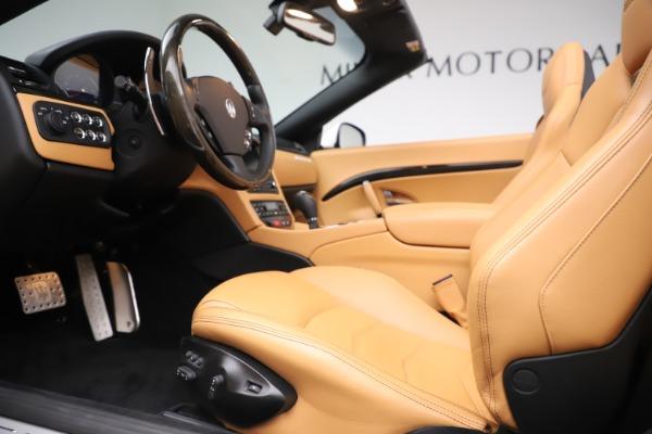 Used 2017 Maserati GranTurismo Convertible Sport for sale $84,900 at Bugatti of Greenwich in Greenwich CT 06830 24