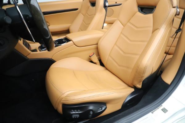 Used 2017 Maserati GranTurismo Convertible Sport for sale $84,900 at Bugatti of Greenwich in Greenwich CT 06830 25