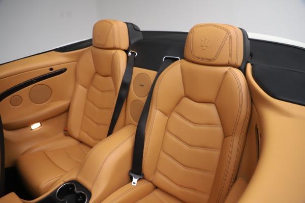 Used 2017 Maserati GranTurismo Convertible Sport for sale $84,900 at Bugatti of Greenwich in Greenwich CT 06830 28