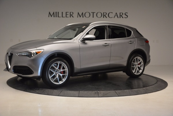 New 2018 Alfa Romeo Stelvio Q4 for sale Sold at Bugatti of Greenwich in Greenwich CT 06830 2