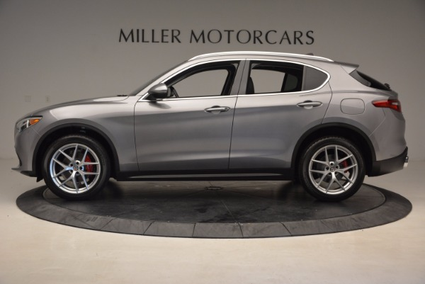 New 2018 Alfa Romeo Stelvio Q4 for sale Sold at Bugatti of Greenwich in Greenwich CT 06830 3