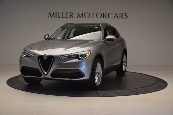 New 2018 Alfa Romeo Stelvio Q4 for sale Sold at Bugatti of Greenwich in Greenwich CT 06830 1