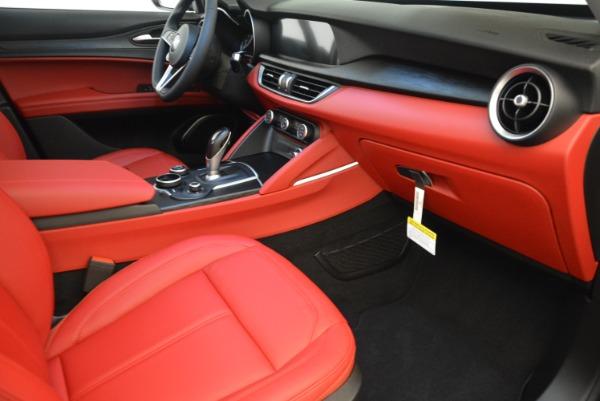 New 2018 Alfa Romeo Stelvio Q4 for sale Sold at Bugatti of Greenwich in Greenwich CT 06830 19