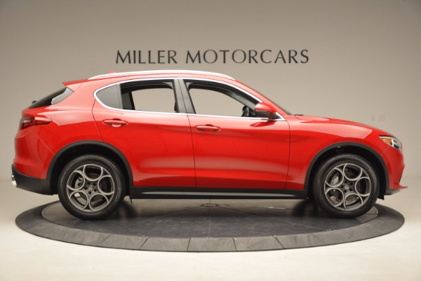 New 2018 Alfa Romeo Stelvio Q4 for sale Sold at Bugatti of Greenwich in Greenwich CT 06830 9