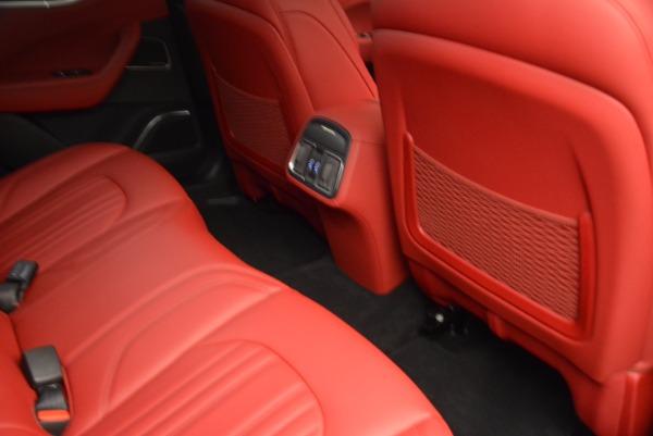 Used 2017 Maserati Levante S Q4 for sale Sold at Bugatti of Greenwich in Greenwich CT 06830 20