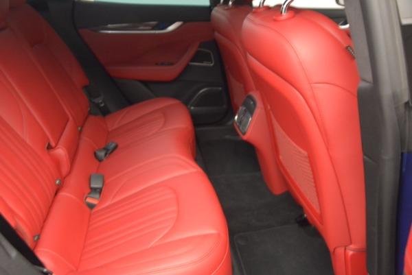 Used 2017 Maserati Levante S Q4 for sale Sold at Bugatti of Greenwich in Greenwich CT 06830 21