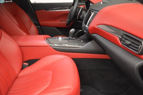 Used 2017 Maserati Levante S Q4 for sale Sold at Bugatti of Greenwich in Greenwich CT 06830 24
