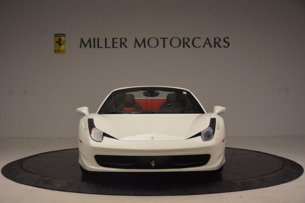 Used 2015 Ferrari 458 Spider for sale Sold at Bugatti of Greenwich in Greenwich CT 06830 12