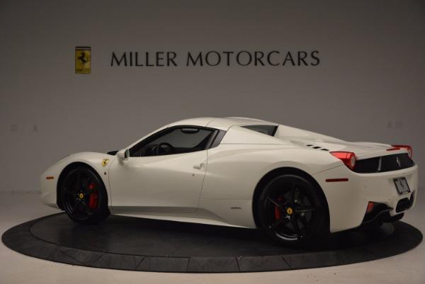 Used 2015 Ferrari 458 Spider for sale Sold at Bugatti of Greenwich in Greenwich CT 06830 16