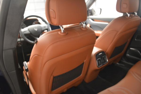 Used 2018 Maserati Levante Q4 GranLusso for sale $61,900 at Bugatti of Greenwich in Greenwich CT 06830 19