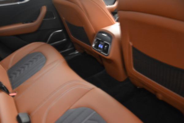 Used 2018 Maserati Levante Q4 GranLusso for sale $61,900 at Bugatti of Greenwich in Greenwich CT 06830 20