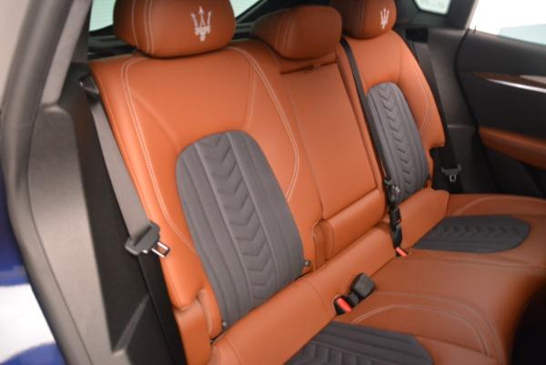 Used 2018 Maserati Levante Q4 GranLusso for sale $61,900 at Bugatti of Greenwich in Greenwich CT 06830 21