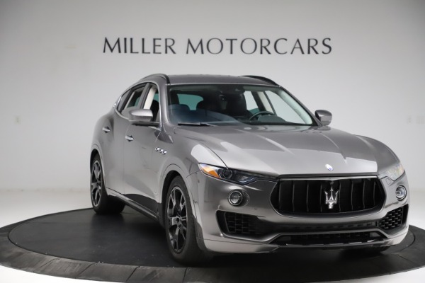 Used 2018 Maserati Levante SQ4 GranSport for sale $55,900 at Bugatti of Greenwich in Greenwich CT 06830 11