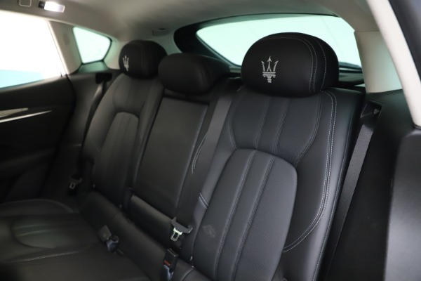 Used 2018 Maserati Levante SQ4 GranSport for sale $55,900 at Bugatti of Greenwich in Greenwich CT 06830 18