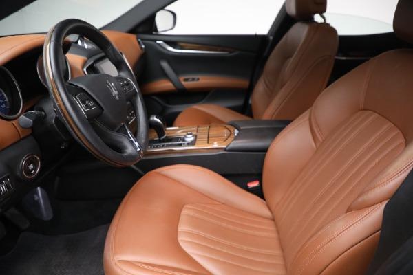 New 2018 Maserati Ghibli S Q4 GranLusso for sale Sold at Bugatti of Greenwich in Greenwich CT 06830 12