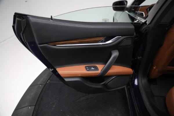 New 2018 Maserati Ghibli S Q4 GranLusso for sale Sold at Bugatti of Greenwich in Greenwich CT 06830 18