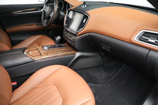 Used 2018 Maserati Ghibli S Q4 GranLusso for sale $56,900 at Bugatti of Greenwich in Greenwich CT 06830 19
