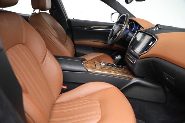 Used 2018 Maserati Ghibli S Q4 GranLusso for sale $56,900 at Bugatti of Greenwich in Greenwich CT 06830 21