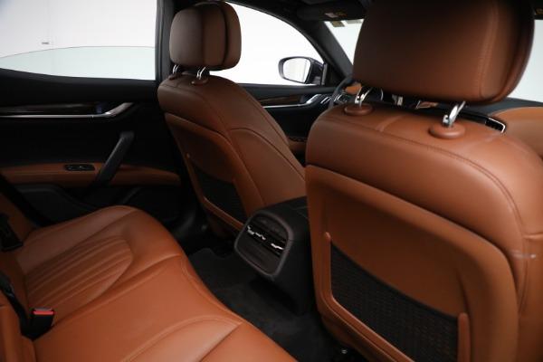 New 2018 Maserati Ghibli S Q4 GranLusso for sale Sold at Bugatti of Greenwich in Greenwich CT 06830 23