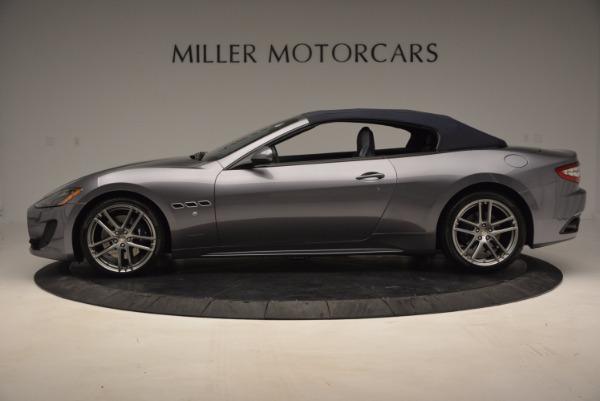 New 2016 Maserati GranTurismo Convertible Sport for sale Sold at Bugatti of Greenwich in Greenwich CT 06830 12