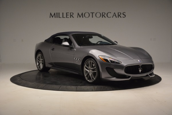 New 2016 Maserati GranTurismo Convertible Sport for sale Sold at Bugatti of Greenwich in Greenwich CT 06830 16