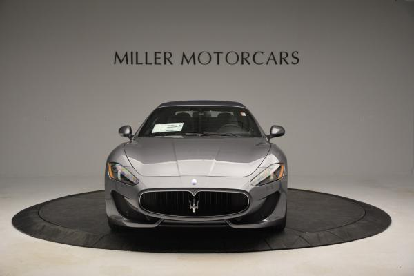 New 2016 Maserati GranTurismo Convertible Sport for sale Sold at Bugatti of Greenwich in Greenwich CT 06830 17