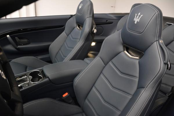 New 2016 Maserati GranTurismo Convertible Sport for sale Sold at Bugatti of Greenwich in Greenwich CT 06830 22