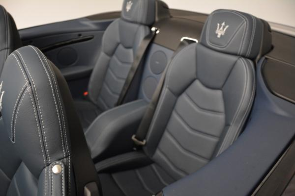 New 2016 Maserati GranTurismo Convertible Sport for sale Sold at Bugatti of Greenwich in Greenwich CT 06830 25