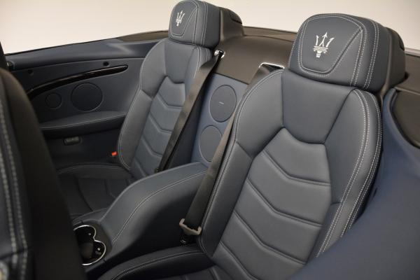 New 2016 Maserati GranTurismo Convertible Sport for sale Sold at Bugatti of Greenwich in Greenwich CT 06830 26